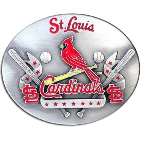 MLB Belt Buckle - St. Louis Cardinals