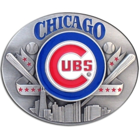 MLB Belt Buckle - Chicago Cubs