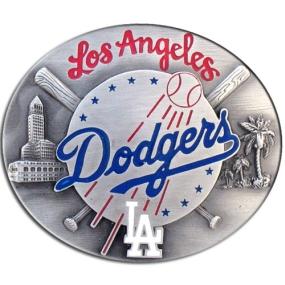 MLB Belt Buckle - Los Angeles Dodgers