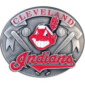 MLB Belt Buckle - Cleveland Indians