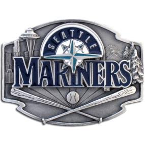 MLB Belt Buckle - Seattle Mariners