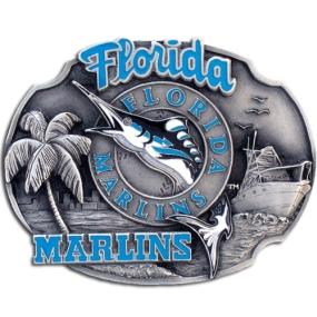 MLB Belt Buckle - Florida Marlins