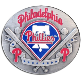 MLB Belt Buckle - Philadelphia Phillies