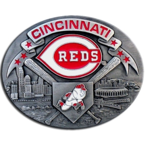 MLB Belt Buckle - Cincinnati Reds
