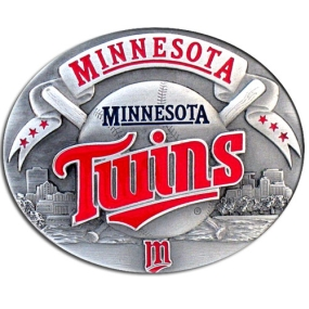 MLB Belt Buckle - Minnesota Twins