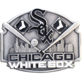 MLB Belt Buckle - Chicago White Sox