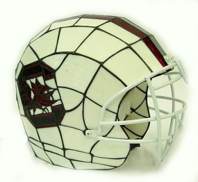 South Carolina Gamecocks Glass Helmet Lamp