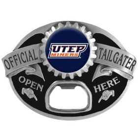 UTEP Miners Tailgater Buckle
