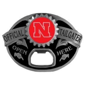 Nebraska Cornhuskers Tailgater Buckle