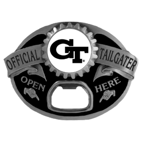 Georgia Tech Yellow Jackets Tailgater Buckle