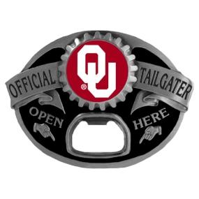 Oklahoma Sooners Tailgater Buckle