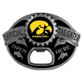 Iowa Hawkeyes Tailgater Buckle