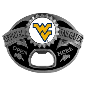 W. Virginia Mountaineers Tailgater Buckle