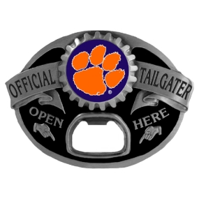 Clemson Tigers Tailgater Buckle