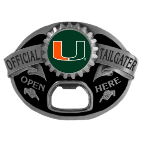 Miami Hurricanes Tailgater Buckle