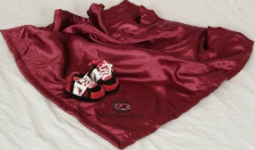 South Carolina Gamecocks Baby Blanket and Slippers
