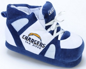 San Diego Chargers Boot Slippers
