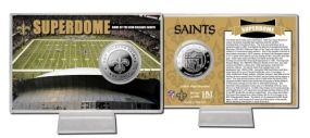 Superdome Silver Coin Card