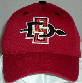 San Diego State Aztecs Team Color One Fit Hat