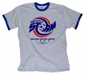 1984 Seattle Storm Ringer T-Shirt