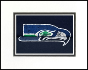 Seattle Seahawks Vintage T-Shirt Sports Art