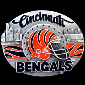 NFL Belt Buckle - Cincinnati Bengals