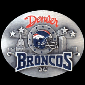 NFL Belt Buckle - Denver Broncos