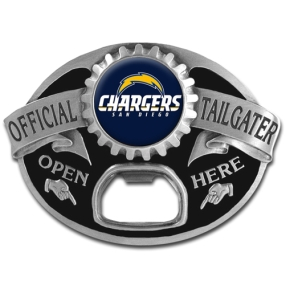 NFL Tailgater Buckle - San Diego Chargers