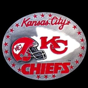 NFL Belt Buckle - Kansas City Chiefs