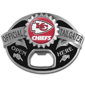 NFL Tailgater Buckle - Kansas City Chiefs
