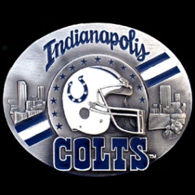 NFL Belt Buckle - Indianapolis Colts