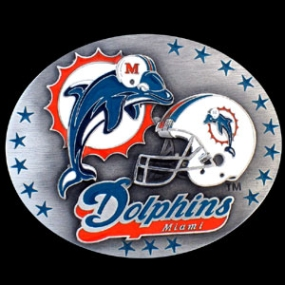 NFL Belt Buckle - Miami Dolphins