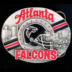 NFL Belt Buckle - Atlanta Falcons