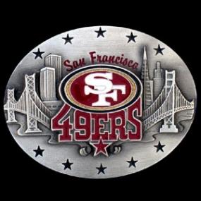 NFL Belt Buckle - San Francisco 49ers