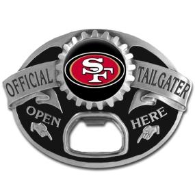 NFL Tailgater Buckle - San Francisco 49ers