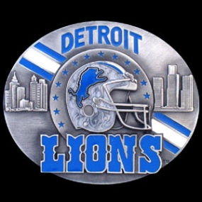 NFL Belt Buckle - Detroit Lions