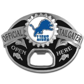 NFL Tailgater Buckle - Detroit Lions