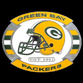 NFL Belt Buckle - Green Bay Packers