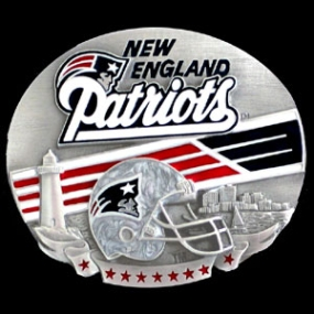 NFL Belt Buckle - New England Patriots