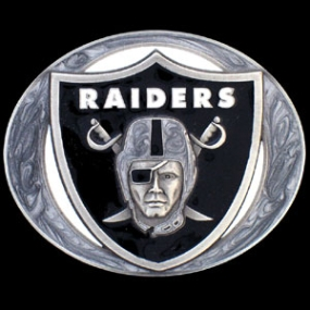 NFL Belt Buckle - Oakland Raiders