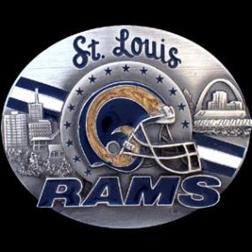 NFL Belt Buckle - St. Louis Rams
