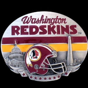 NFL Belt Buckle - Washington Redskins