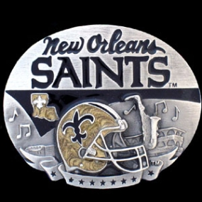 NFL Belt Buckle - New Orleans Saints