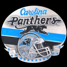 NFL Belt Buckle - Carolina Panthers