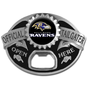 NFL Tailgater Buckle - Baltimore Ravens