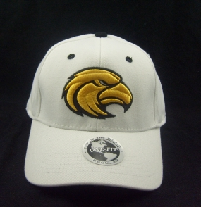 Southern Miss Golden Eagles White One Fit Hat