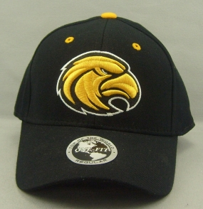 Southern Miss Golden Eagles Black One Fit Hat