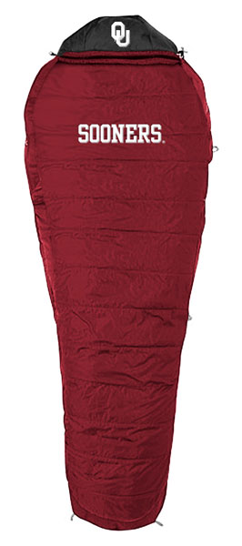 Oklahoma Sooners Sleeping Bag