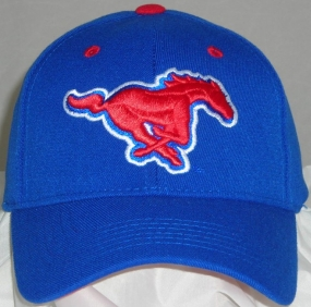 SMU Mustangs Team Color One Fit Hat