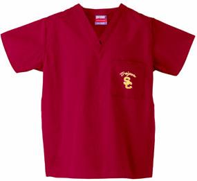 USC Trojans Scrub Top